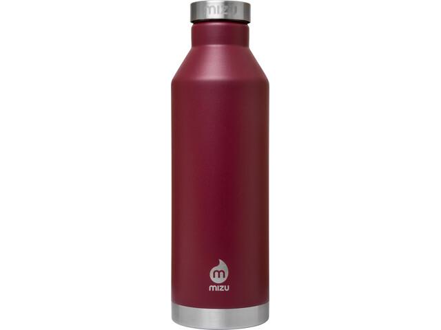 MIZU V8 Insulated Bottle with Stainless Steel Cap 750ml, enduro burgundy